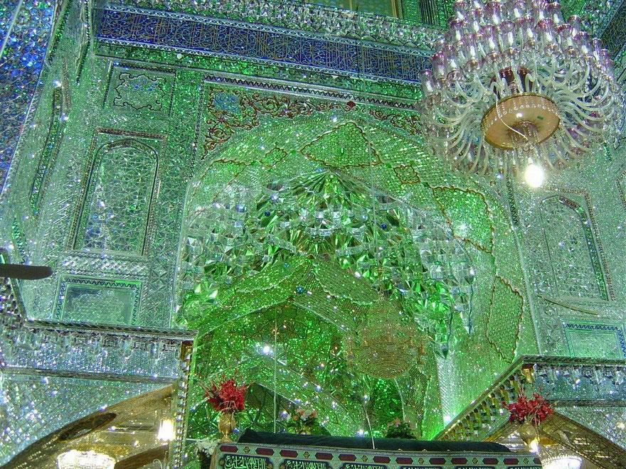 Shah Cheragh mosque in Shiraz
